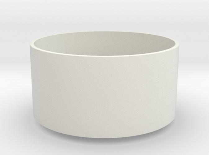 1:12 miniatuur lamp houten poten 1 - wit