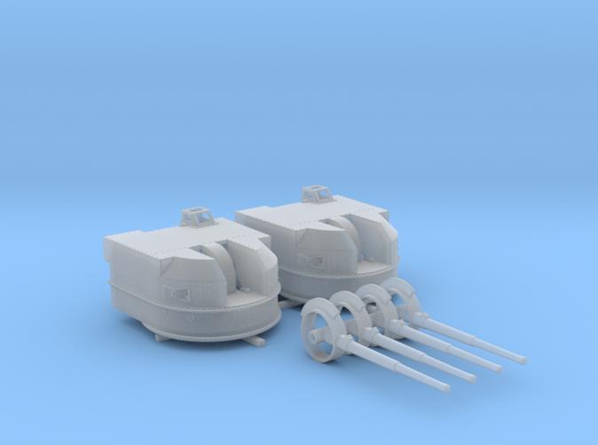 "1/192 Battle Class 4.5""/45 QF MKIV RP10 Gun x2"