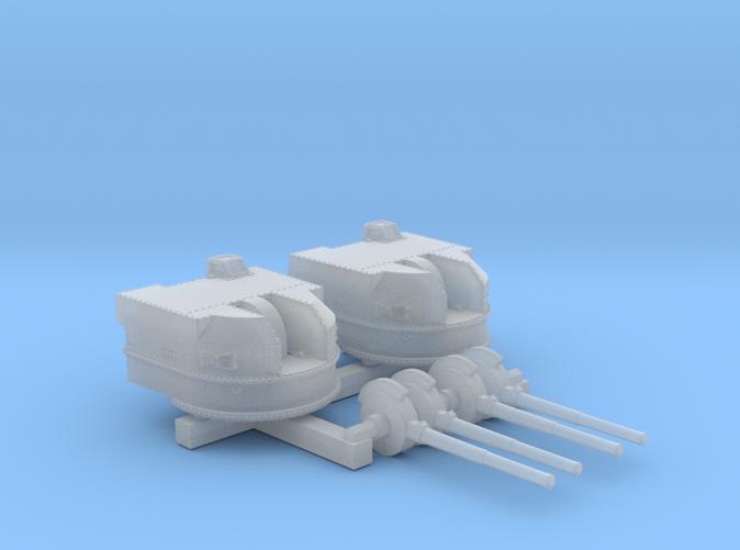 "1/600 Battle Class 4.5""/45 QF MKIV RP10 Gun x2"