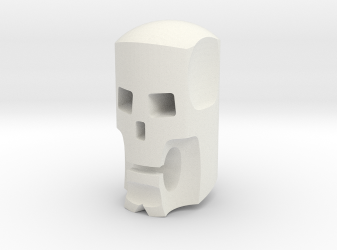 Stylized skull head for ModiBot