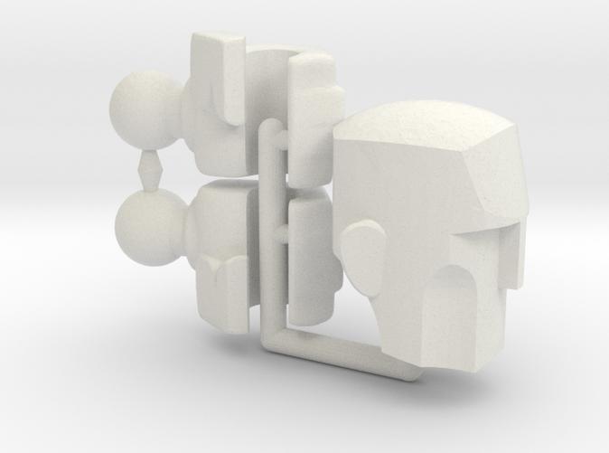 ExoSkin Hands And Head Frame for ModiBot Mo