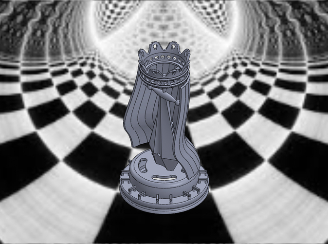 King-Isometric View
