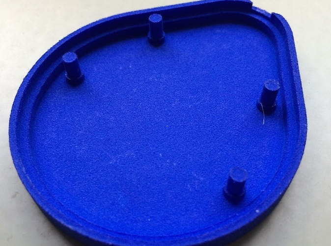 The Base part printed in Royal Blue