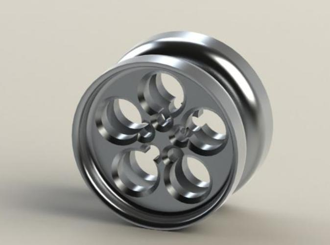 A variation of the Circle Cut YoYo, this has straight sides