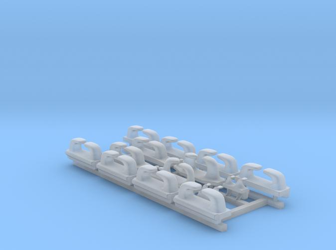 1/128 Royal Navy WW2 Leander Class Fairleads x14