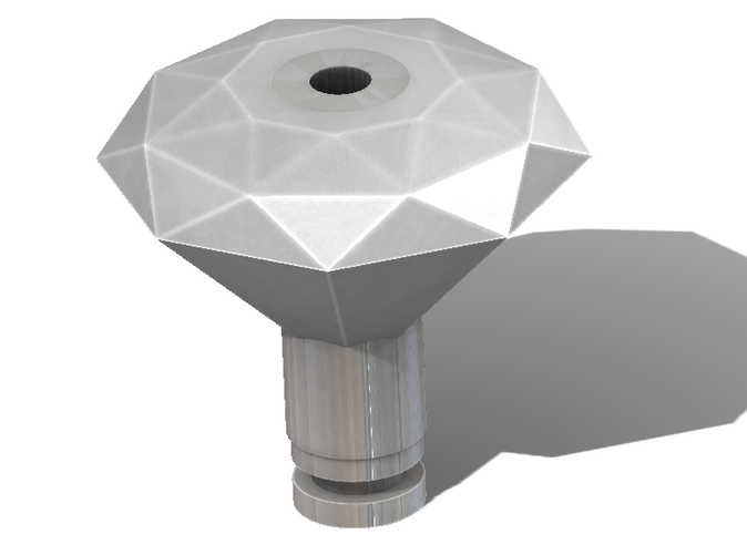A simple render of the drip tip