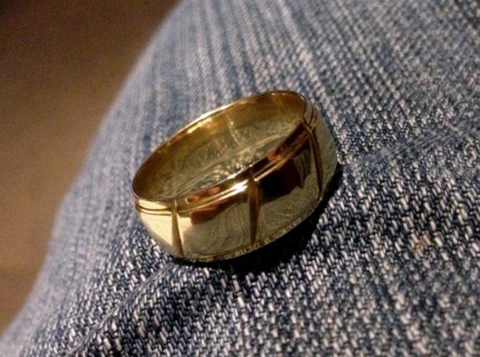 My Wedding Ring in Polished Brass