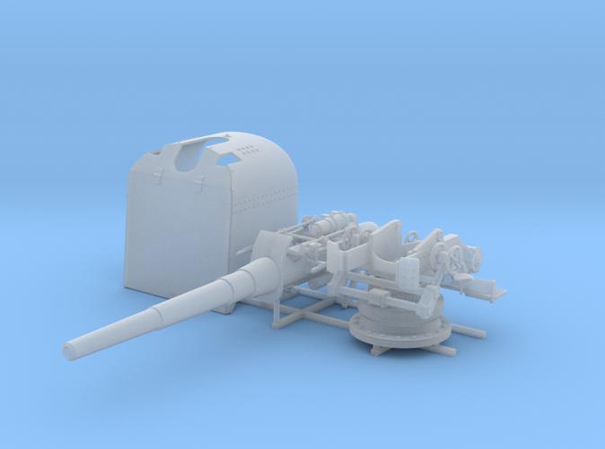 "1/100 German 15 cm/45 (5.9"") SK L/45 Gun w. Shield"
