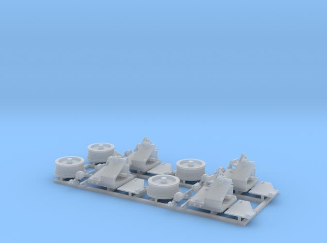 1/128 Twin 20mm Oerlikon Powered MKV Mount
