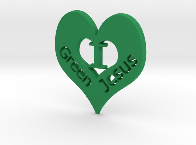 """I """"heart"""" Green Jesus"""