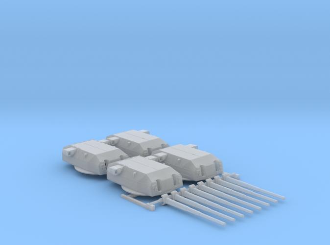"""1/600 H Class 40.6 cm/52 (16"""") SK C/34 Guns"""