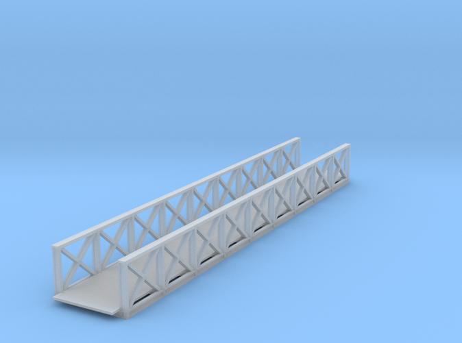 Medford foot bridge 75 ft Z scale