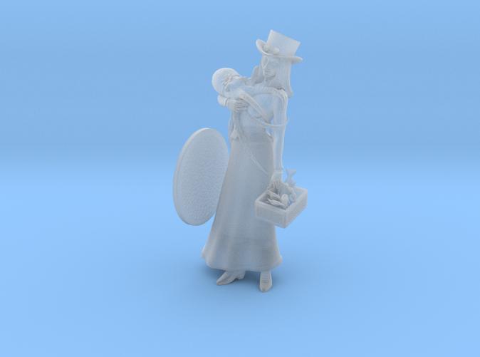 A Steampunk Lady.