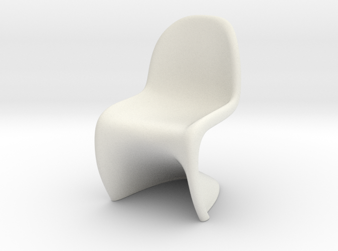 Panton Chair Scale 1/10 (10%)