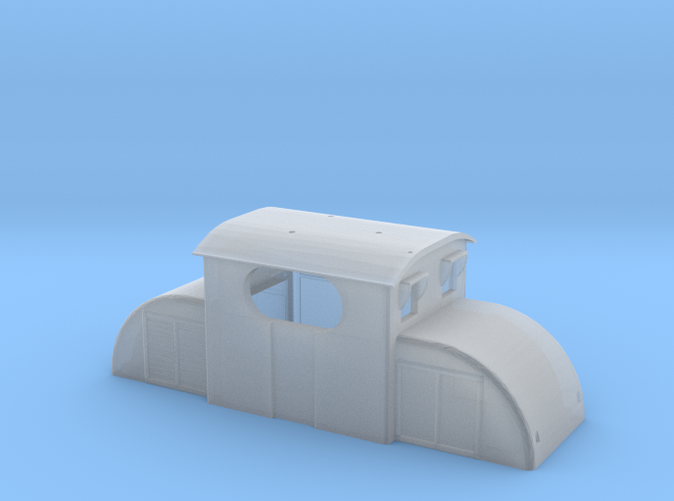 Upper chassis for freelance electric locomotive E13