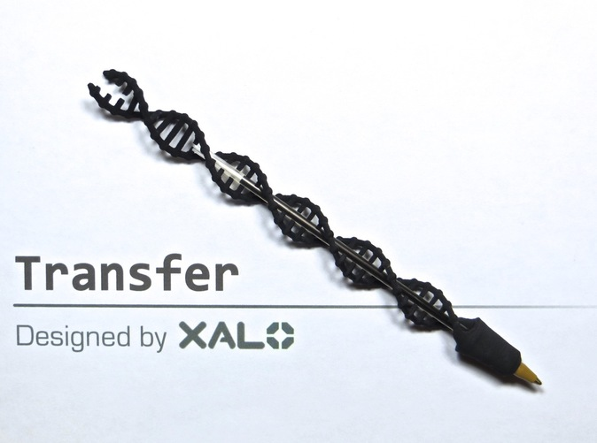 Transfer, my first 3D printed pen!