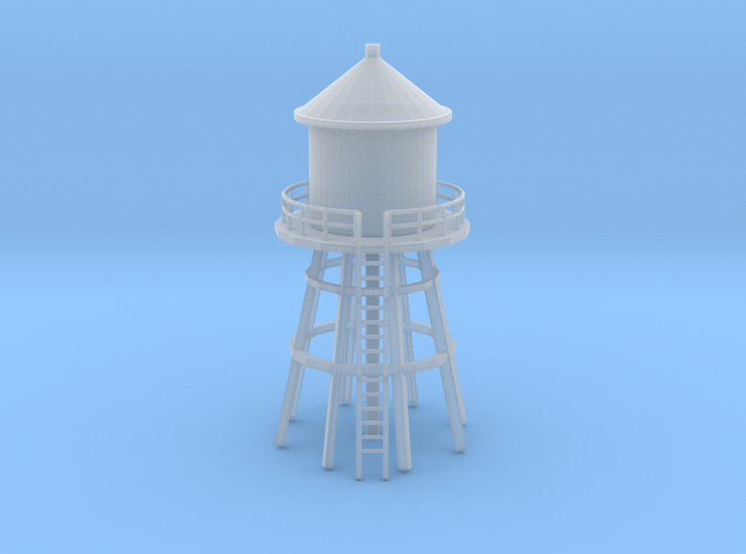 Water tower 3 Z scale