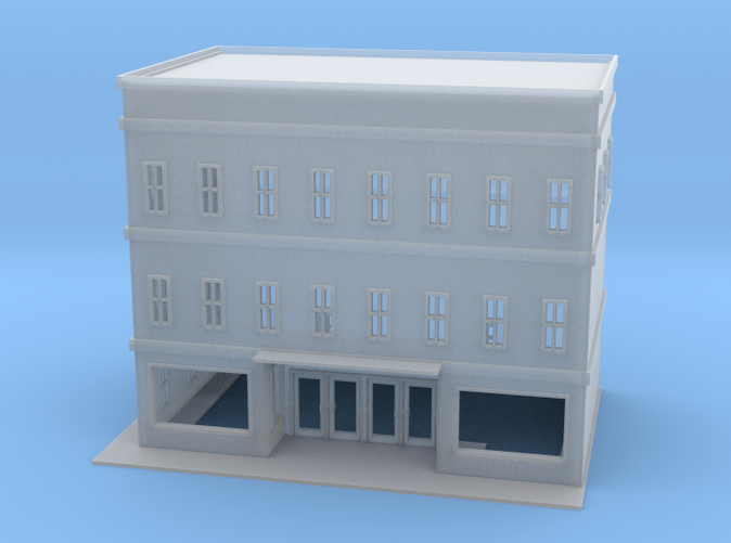 City Store Building Z scale