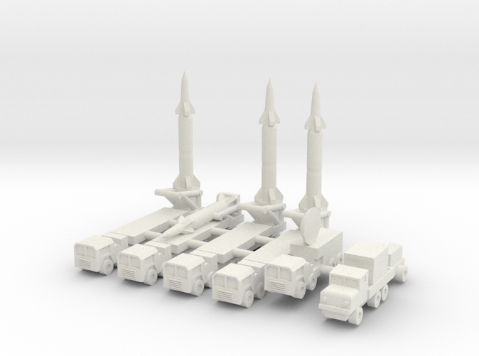 1/350 Pershing 2 Missile Battery