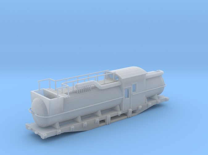 Snow Melter tank Car z scale