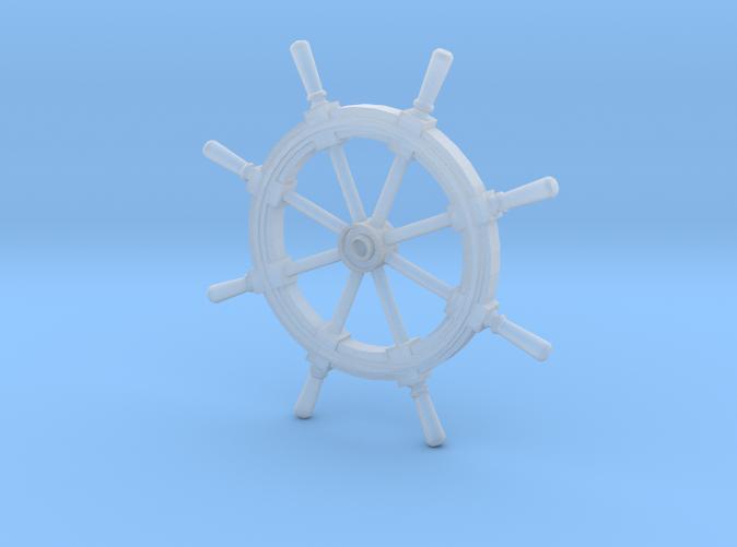 Ship's Helm Wheel Z scale