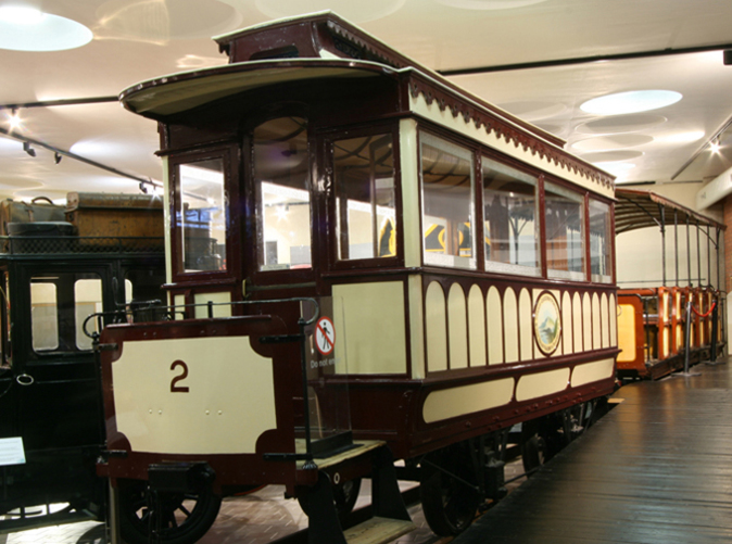 Tram in Belfast Transport Museum