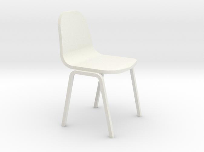 Miniature 1:24 Plastic School Chair