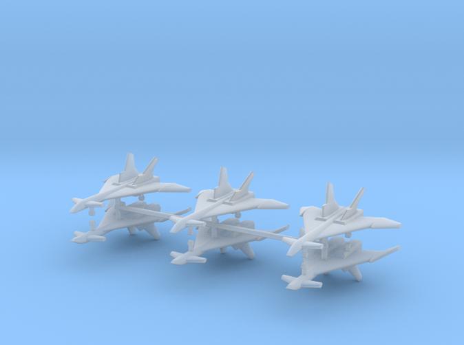 1/500 Mikoyan MiG-31 (Firefox) (x6)
