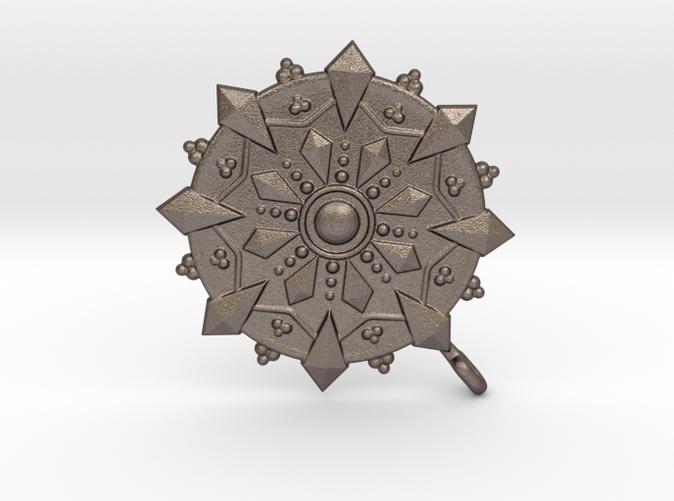 Buddhist Dharma Wheel  Stainless Steel