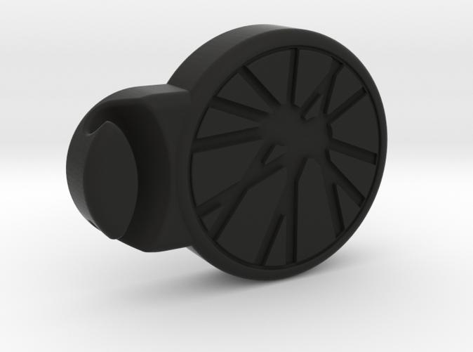Black bike clip