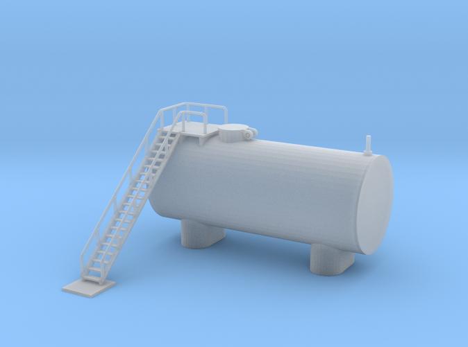 Clay Spur Diesel Fuel Tank z scale