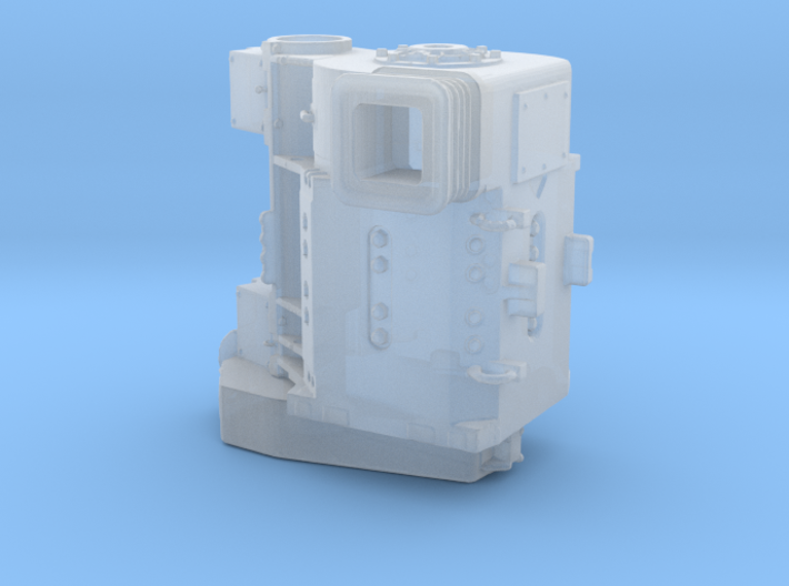 TRACTION MOTOR 1/87 SCALE 3d printed