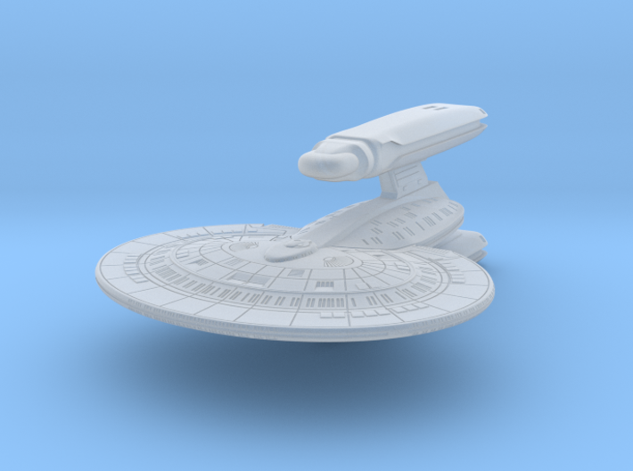 SF Light Cruiser 1:7000 3d printed