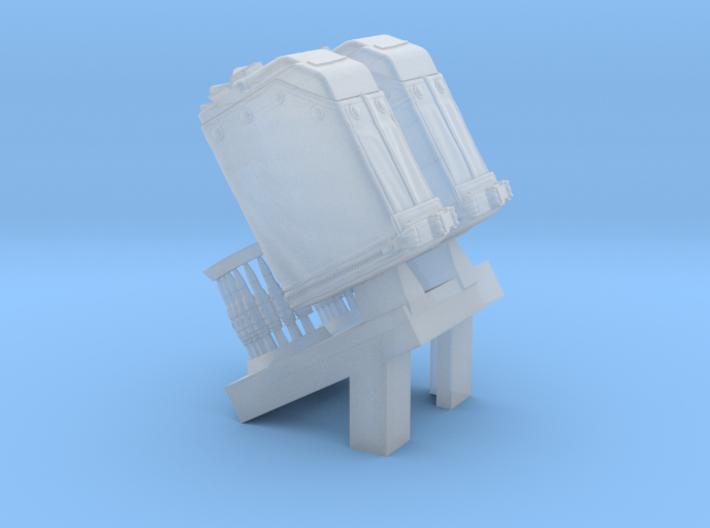 1/24 SPM-24-014 LBT MK48 Box Mag 3d printed