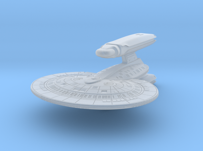 SF Light Cruiser 1:5000 3d printed