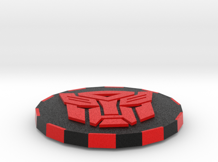 Transformer double sided Card Cover 3d printed