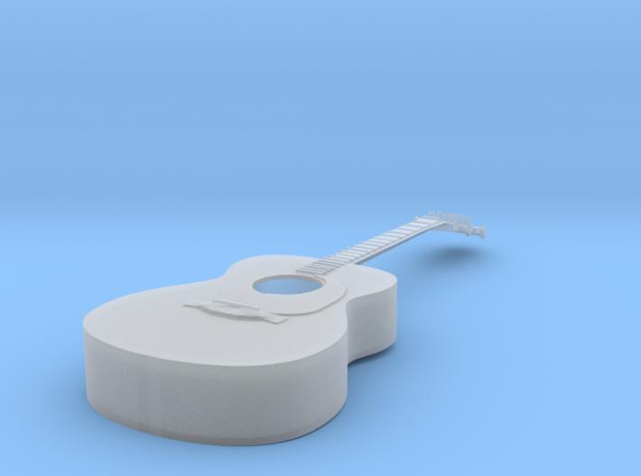 1/18 Acoustic Guitar 3d printed