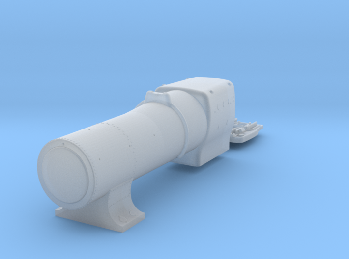 3700 City Class boiler, smokebox, firebox, 3mm 3d printed