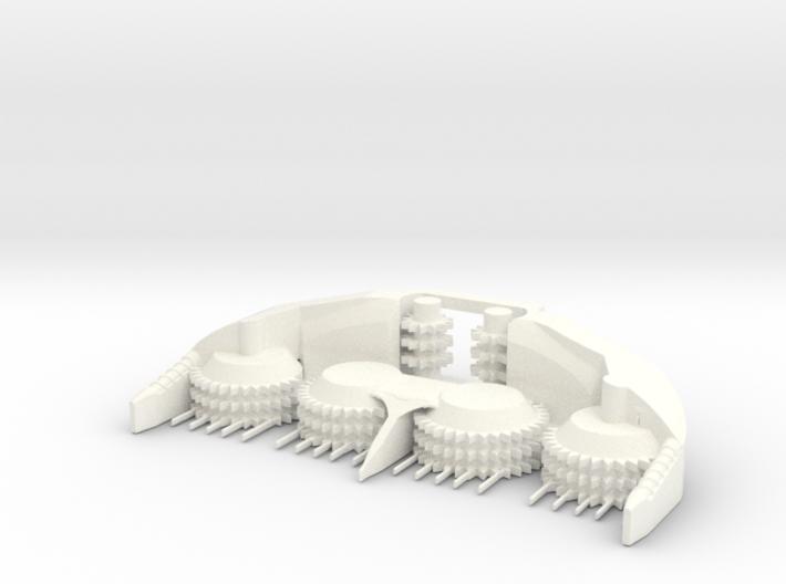 1/64 8 Row Rotary Head (short) 3d printed