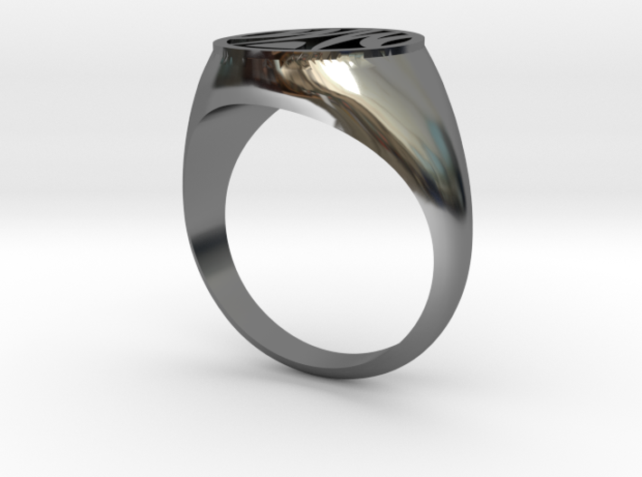 Misfit Ring Size 11 3d printed