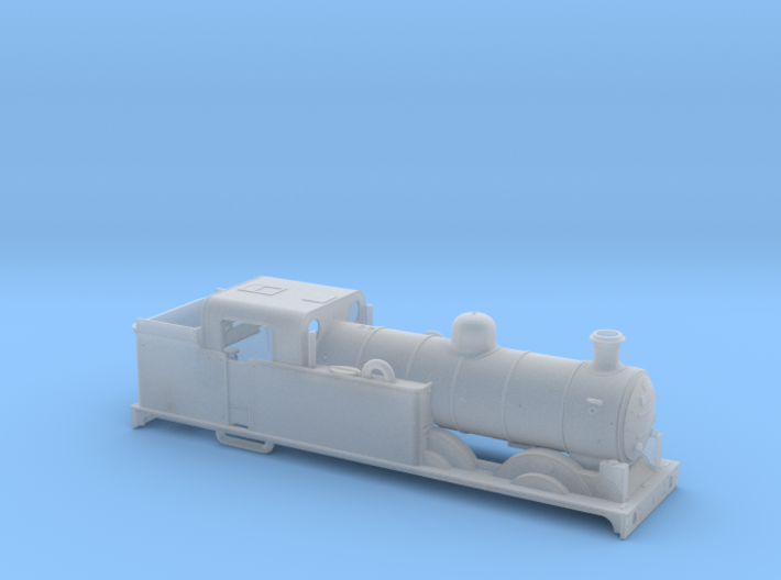 AJModels P01B Ivatt N1 69481 BR-era (Customer) 3d printed