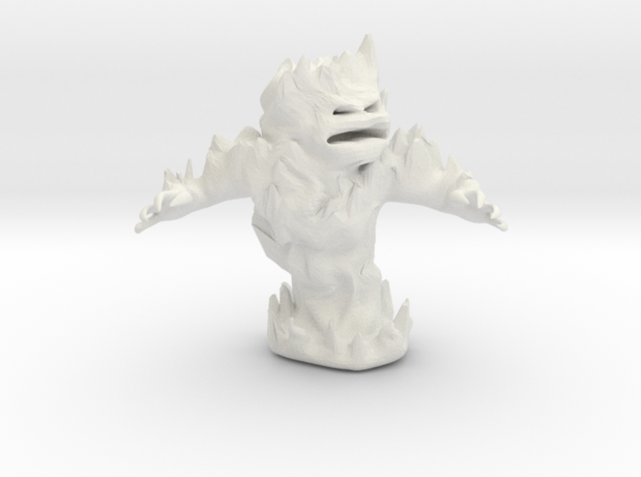 Fire Elemental 3d printed