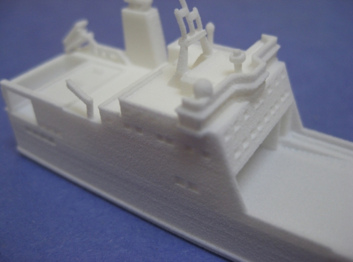 MV Bore Song (1:1200) 3d printed