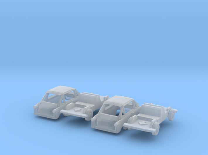 SET 2x Zündapp Janus (TT 1:120) 3d printed