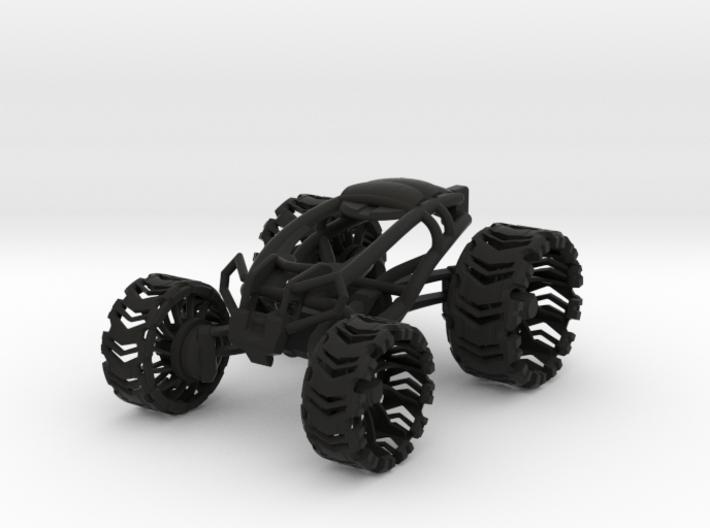 Leafspring Buggy V2 SLS 3d printed