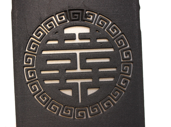 Chinese Lucky Mark 喜喜 iPhone6 case  3d printed