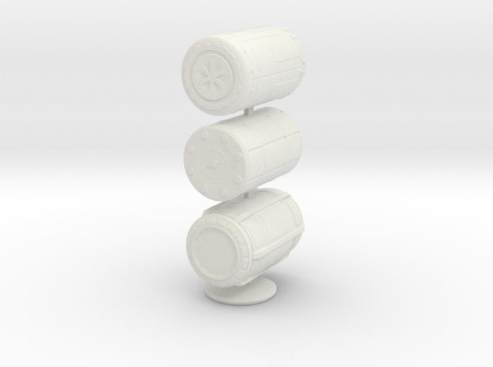 1:20 Barrel set 3d printed