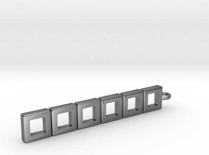 "Pendant - ""Planar"" 3d printed"