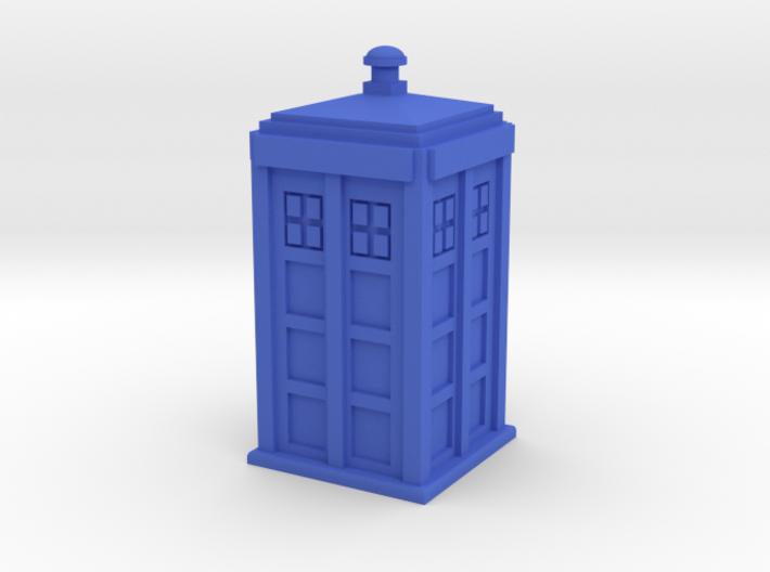 TARDIS (simple) 3d printed