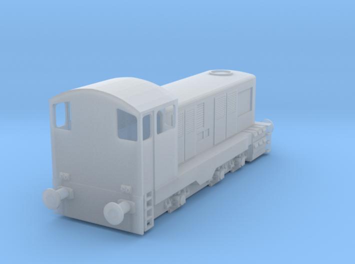 3mm/TT Scale E Class 3d printed